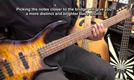 Getting Started On The 5 String Electric Bass Guitar Lesson EricBlackmonMusicHD