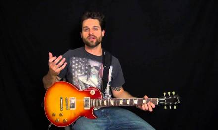 Dude Looks Like A Lady – Electric Guitar Lesson Preview