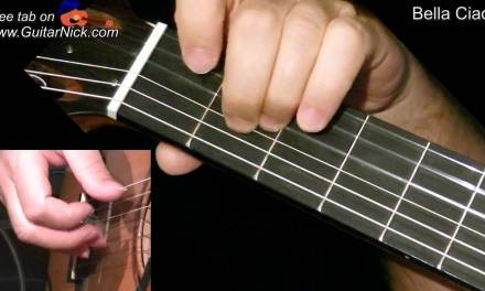 BELLA CIAO: Fingerstyle Guitar Lesson + TAB by GuitarNick