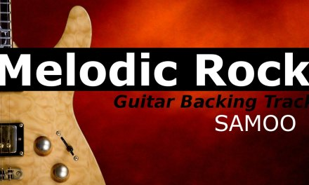 MELODIC ROCK Guitar Backing Track in B Minor – SAMOO
