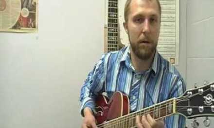 Jazz Guitar Lesson 3: Whole-Tone Scale