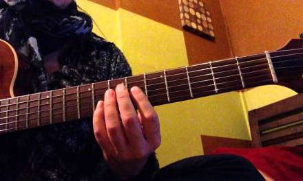 Jazz Guitar Lesson 1  – Harmonic Minor Scale, Am7b5 chord