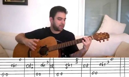 5 Awesome Fingerstyle Blues Riffs  – Guitar Tutorial Lesson w/ TAB