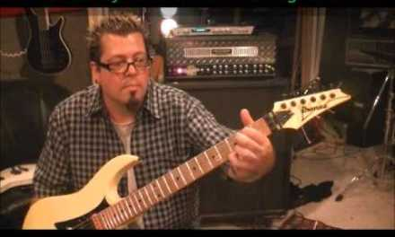 How to play the BIG BANG THEORY theme song on guitar by Mike Gross