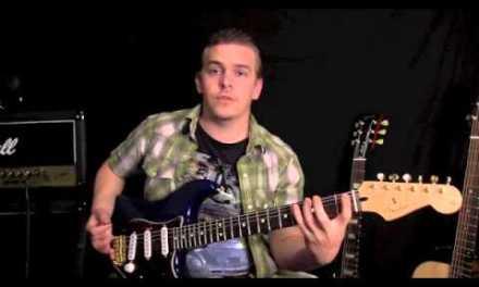 Beginner Guitar Lesson – Spider Scale