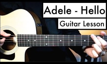 Adele – Hello Guitar Tutorial (Guitar Lesson) | Easy Chords