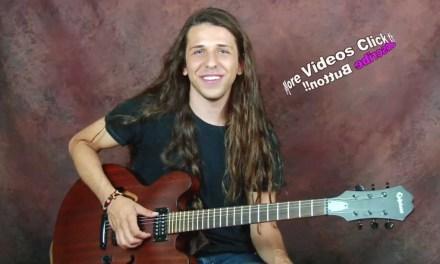 Learn Jazzy Blues rhythms n chords jazz guitar lesson get outside standard I IV V progressions