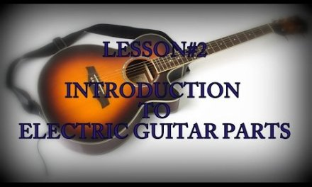 INTRODUCTION TO ELECTRIC GUITAR || ELECTRIC GUITAR PARTS || LESSON#2