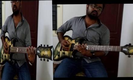 KABALI Neruppu Da  (Theme) Almost perfect Guitar Cover