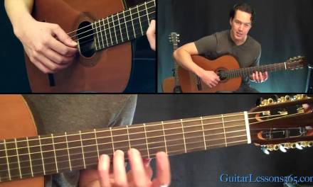 Classical Gas Guitar Lesson – Mason Williams – Part Two