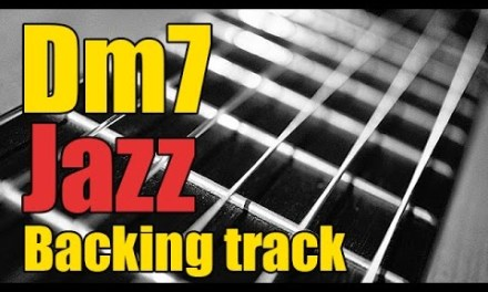Guitar jazz backing track in Dm7 | Minor play-along part 1/2