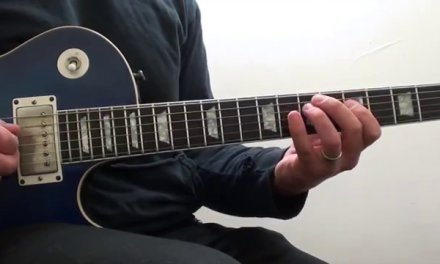 Blues Guitar Lessons-How To Play-Mixing A Major And Minor Pentatonic Scales-With Backing Tracks