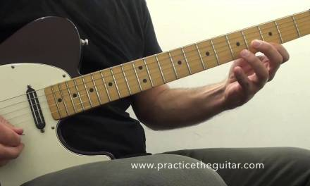 Guitar Lessons- Scales for Blues and Rock Licks-A Blues Scale 5 Patterns Across the Neck