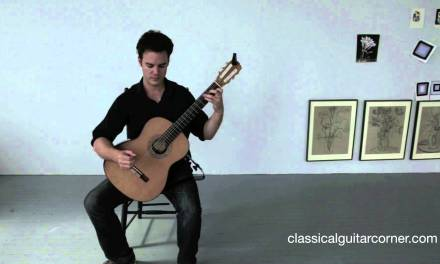 Classical Guitar Lesson – Basic Posture
