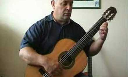 Beginner Guitar Lesson #10 – Menuet in G by Bach for classical guitar