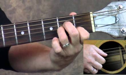 Steve Stine Guitar Lesson – Learn How To Play Dust In The Wind by Kansas part 2