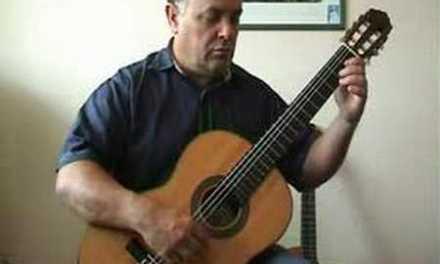 Beginner Guitar Lesson #6 – The Drunken Sailor for classical guitar