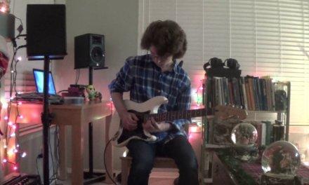 "Ed Sheeran ""Shape Of You"" – Live Rock Guitar Cover [With Tape Loop] Chords & Tutorial"