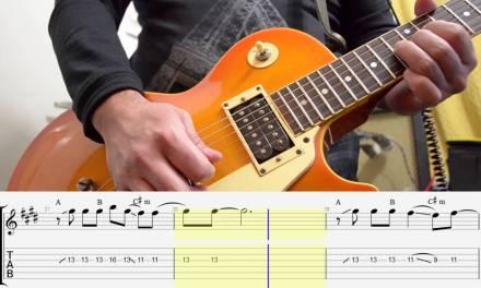 Maps – Maroon 5 guitar tutorial FREE TAB