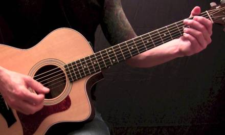 Aaron Lewis – What Hurts The Most – Acoustic Guitar Lesson