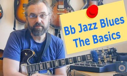 Bb Jazz Blues  – The Basics