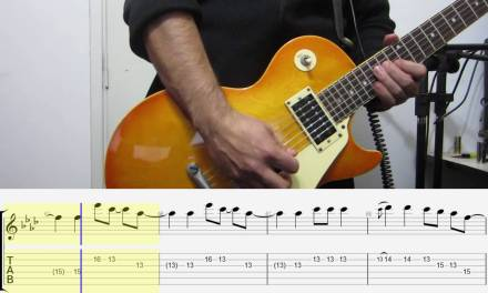 John Legend – All of me | electric guitar cover TABS