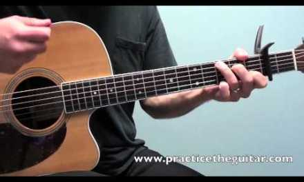 Guitar Lesson-How To Play Radioactive By Imagine Dragons-Easy Beginner Acoustic Guitar