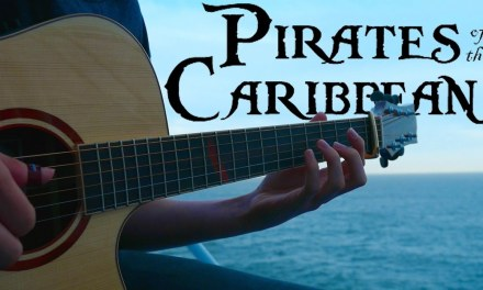 Pirates of the Caribbean Theme [Fingerstyle Guitar Cover by Eddie van der Meer]