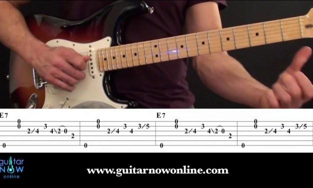 Blues Guitar Workshop – Easy Blues Guitar Lesson