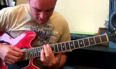 Dixon Nacey – Stella By Starlight Jazz Guitar Lesson