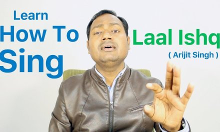 """How To Sing """"Laal Ishq – Ram Leela"""" Bollywood Singing Lessons By Mayoor"""