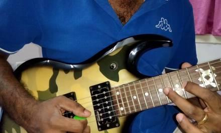Kabali Neruppu da tutorial ( guitar lesson)