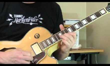 """BB King Guitar Lesson – """"3 O'Clock Blues""""  Song Breakdown April 2015 – Introduction"""