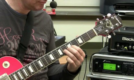 Guitar Lesson – Easy Blues