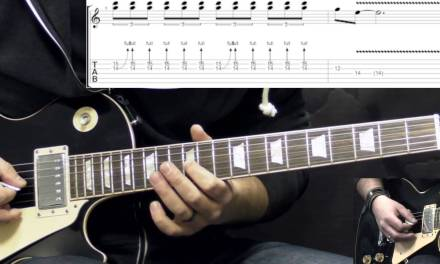 Gary Moore – Walking By Myself – Solo – Blues Guitar Lesson (w/Tabs)