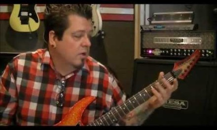How to play a G MINOR SCALE on guitar{open pos.} – by Mike Gross