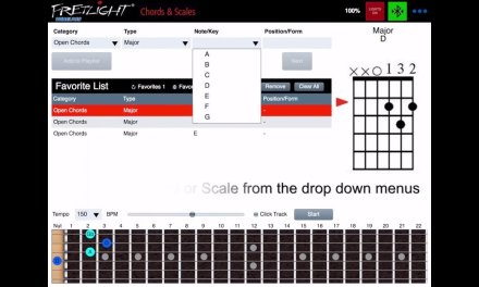 How to Pair your Fretlight Wireless FG-600 Guitar to the Fretlight Chords & Scales App (iOS)