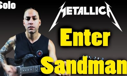"""Learn to Play """"Enter Sandman"""" (Solo) by Metallica (Guitar Lesson)"""