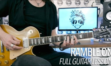 Ramble On – Led Zeppelin (Full Electric Guitar Lesson)