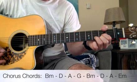 The Kooks – Bad Habit Acoustic Guitar Lesson