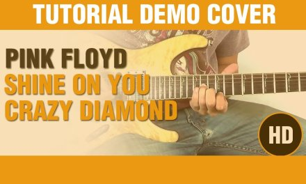Shine on you crazy diamond – PINK FLOYD DEMO – Electric Guitar GUITAR LESSON