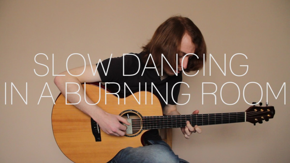 John Mayer Slow Dancing In A Burning Room Fingerstyle Guitar