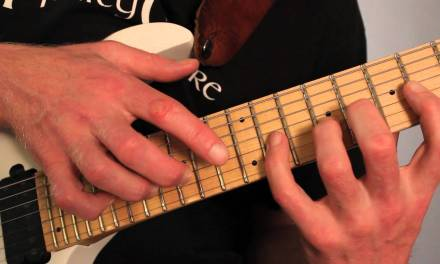 Shred Guitar Lesson 8 Finger Tapping Guitar Scales