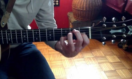 Beginner Jazz Guitar Lesson – chords and Scales