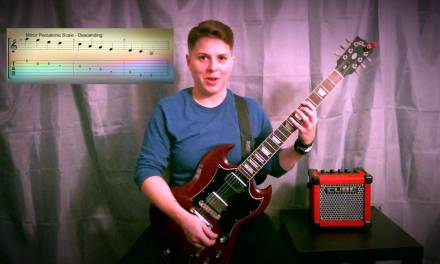 How to play the Minor Pentatonic Scale – Easy Guitar Lesson