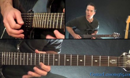 Metallica – Battery Guitar Lesson (Part 3)