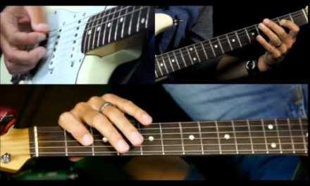 Blues Guitar Lesson in Style Of Stevie Ray Vaughan