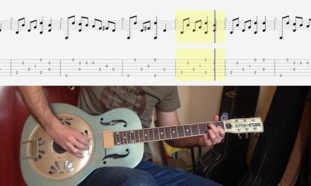 Acoustic blues lesson: Police Dog Blues by Blues Willis with FREE TAB