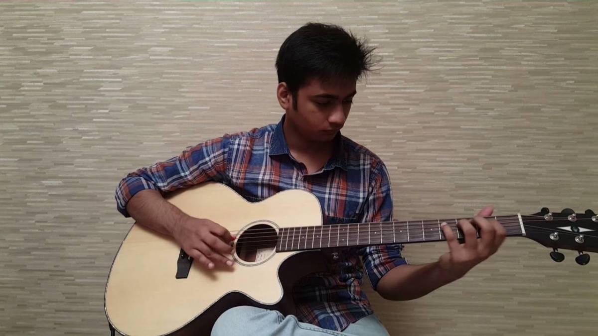 Neele Neele Ambar Par Guitar Instrumental With Tabs Kalakaar The
