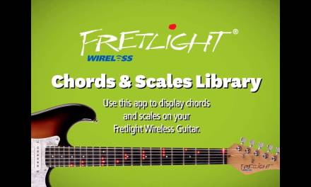 How to use the Fretlight Chords & Scales App (iOS) (Wireless FG-600)